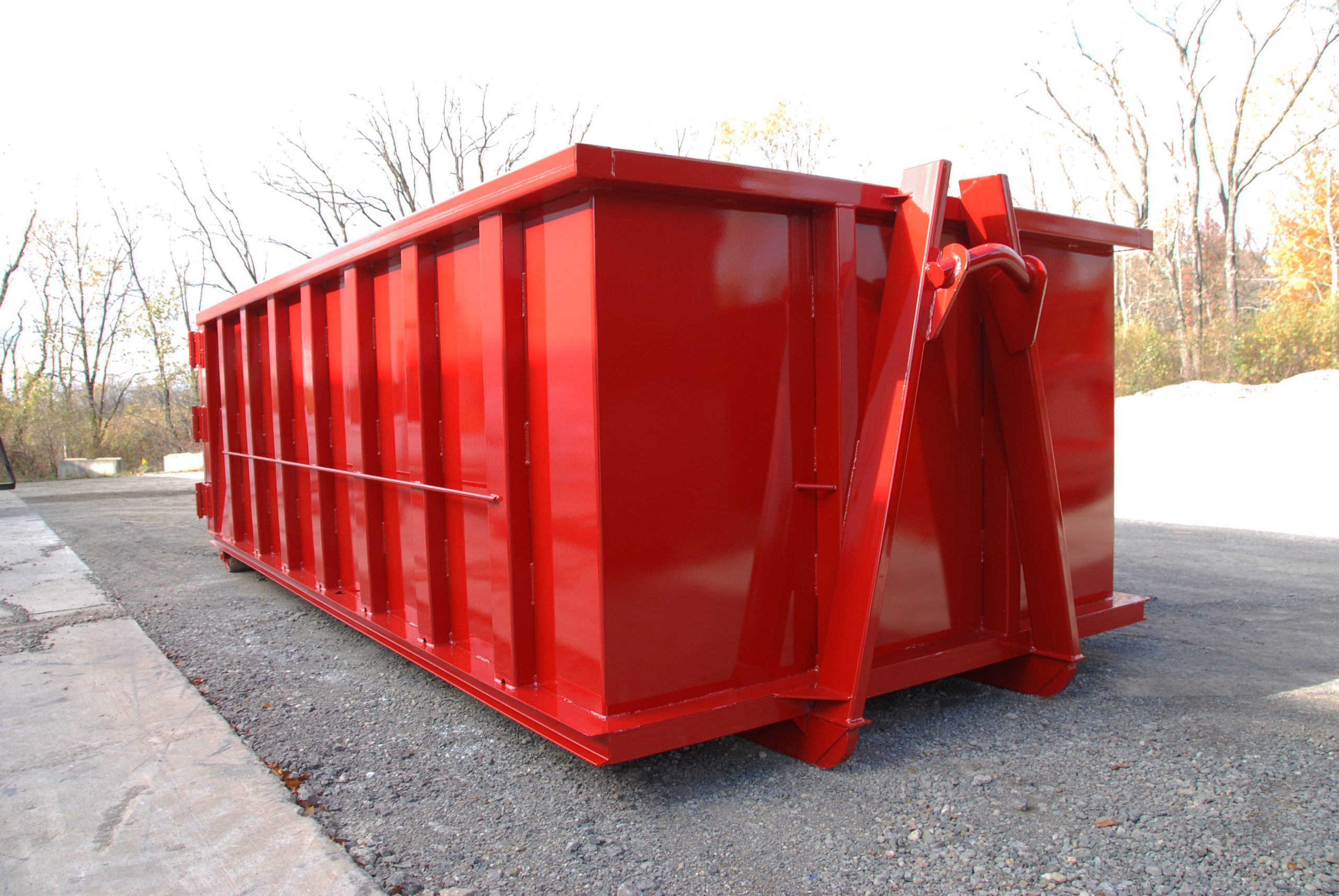 ISO Subframe with Shipping Container